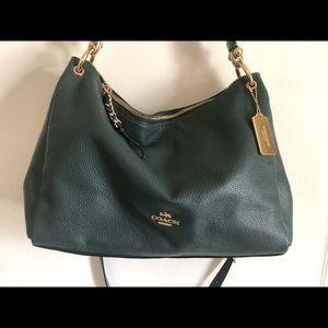 Coach Pine Green Handbag